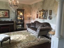 Living Room Faux Walls