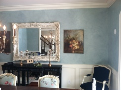 Soft Faux Dining Room