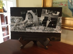 Barnwood Wedding Frame