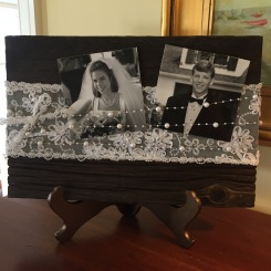 Barnwood Wedding Frame