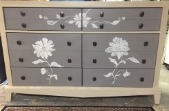 Custom Painted Dresser