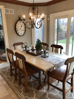 Custom Table/Chairs