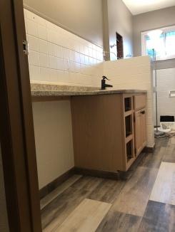 Updated Bathroom Tiles