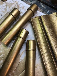 Metallic Candlesticks